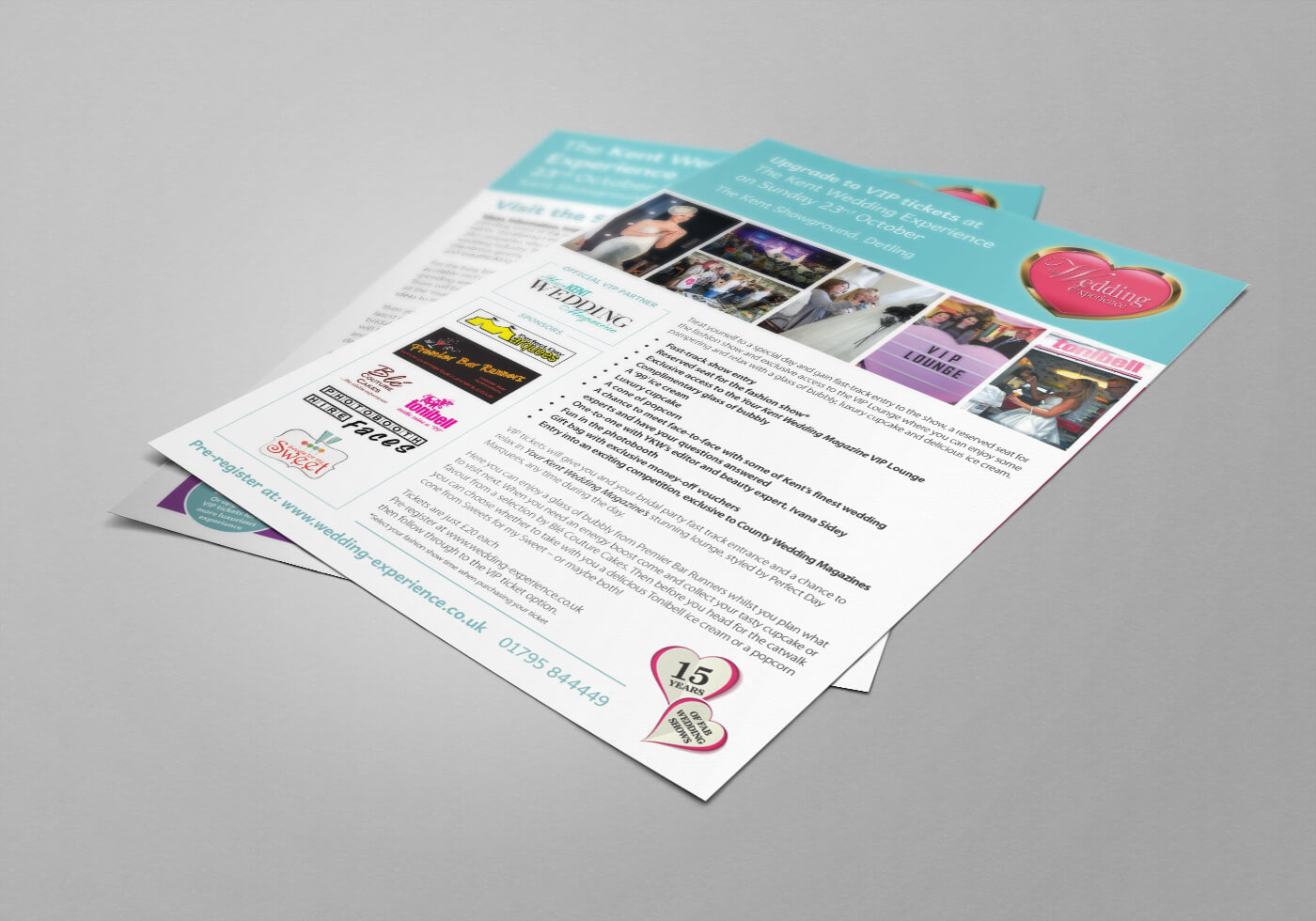 Wedding Experience Leaflet