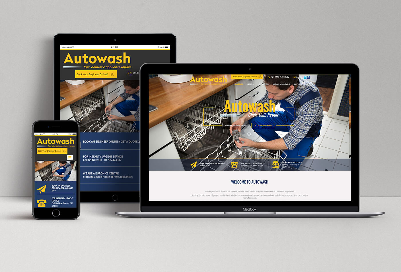 Autowash Website