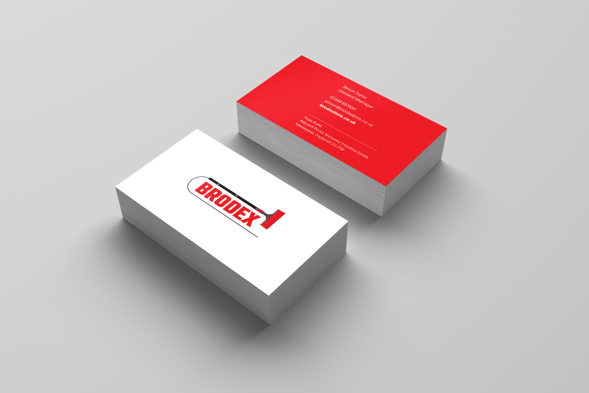 Brodex Business Cards