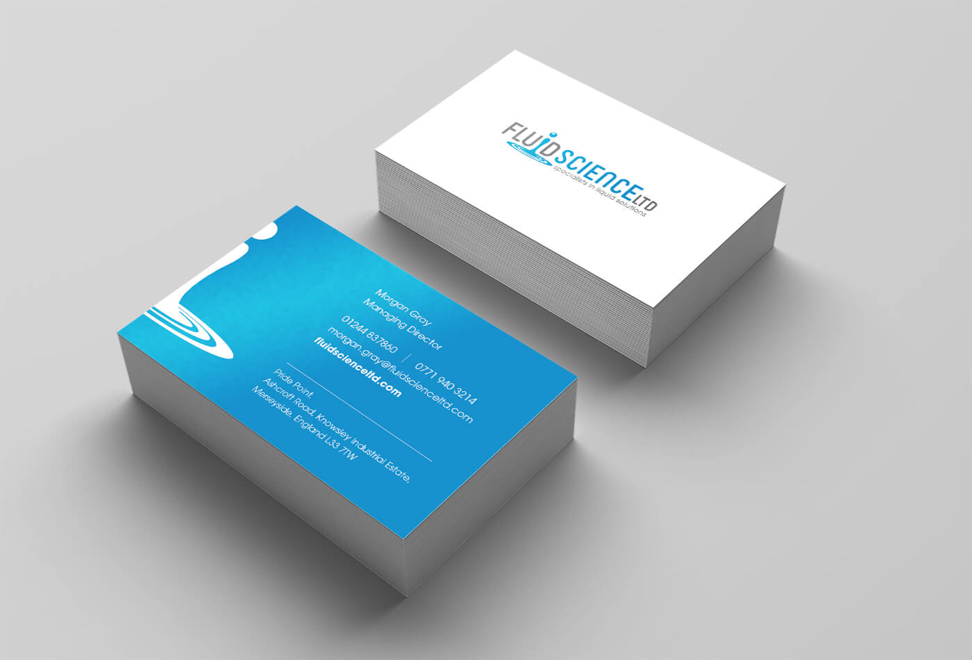 Fluid Science Business Cards