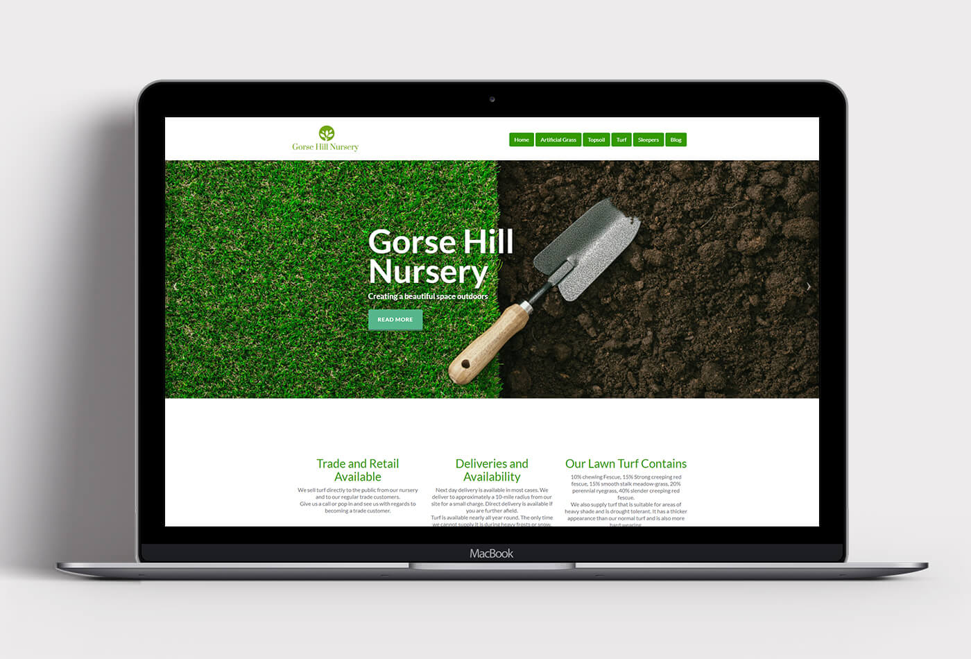 Gorse Hill Nursery Website
