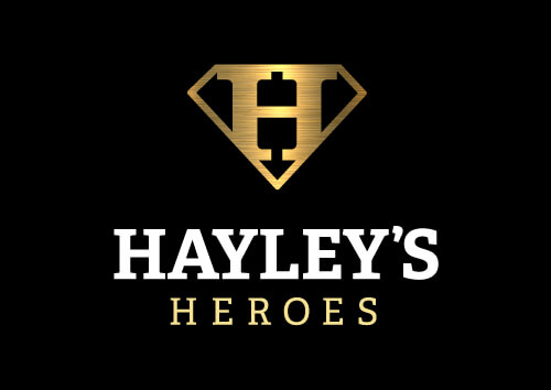Hayleys Heroes Gold Black Logo