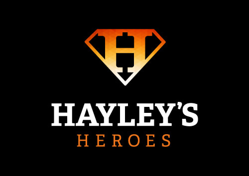 Hayleys Heroes Orange Logo