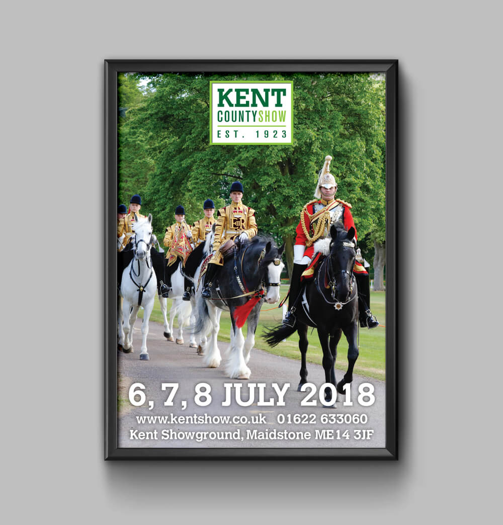 Kent County Show Poster 18