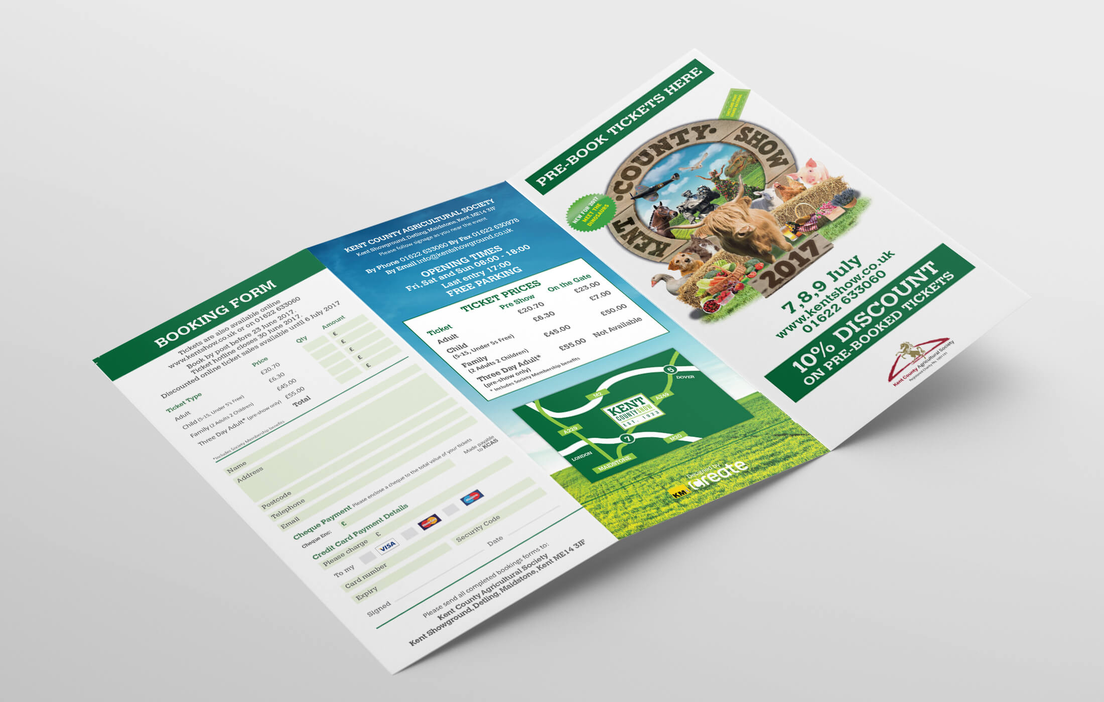 Kent County Show Leaflet