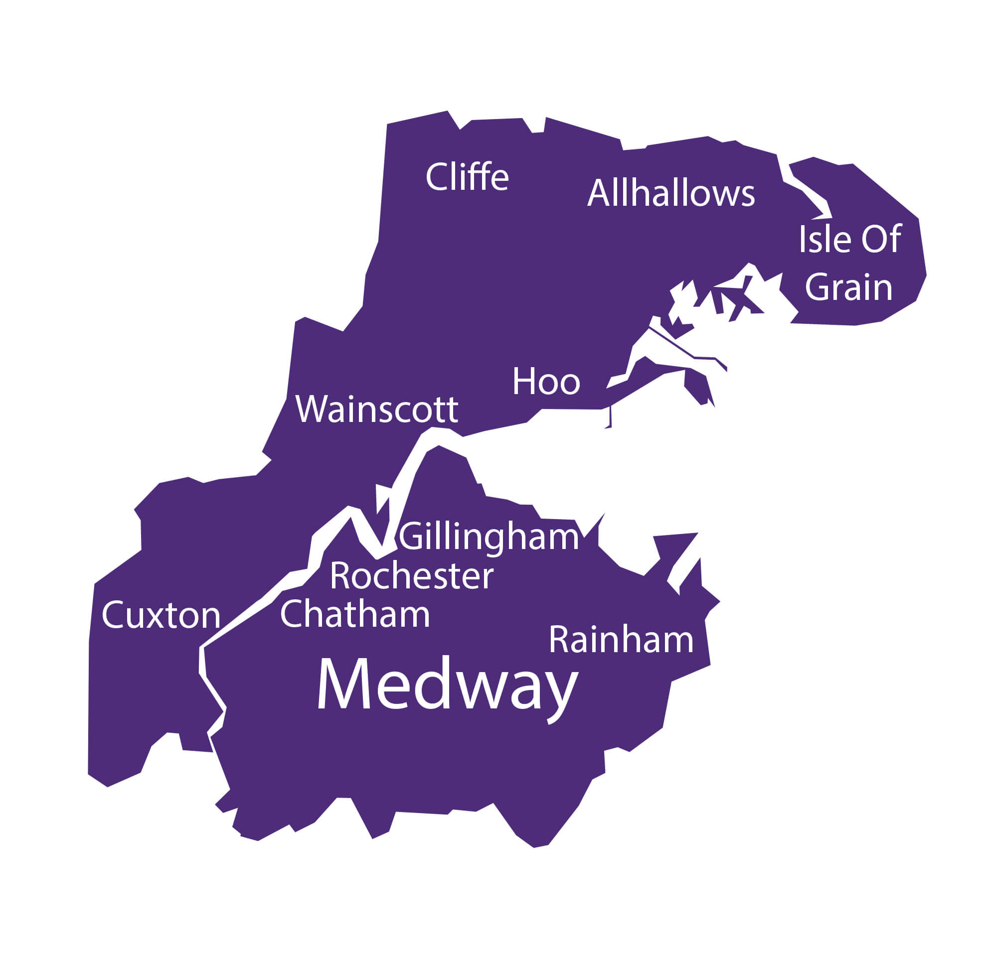 Medway Map