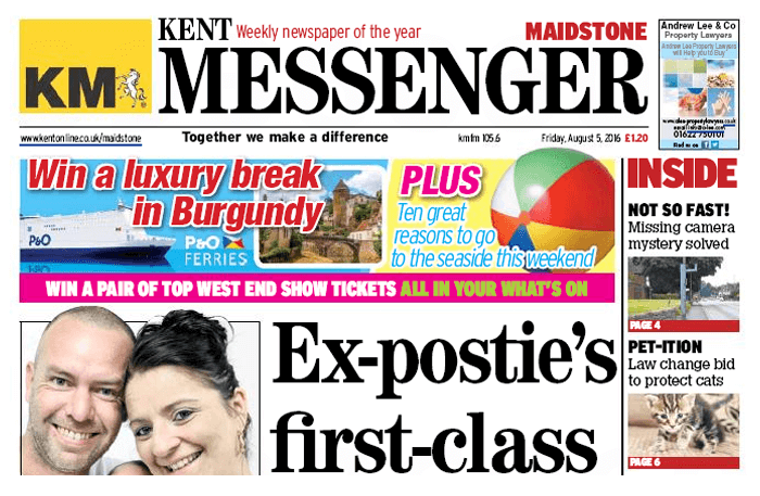 Kent Messenger Cover