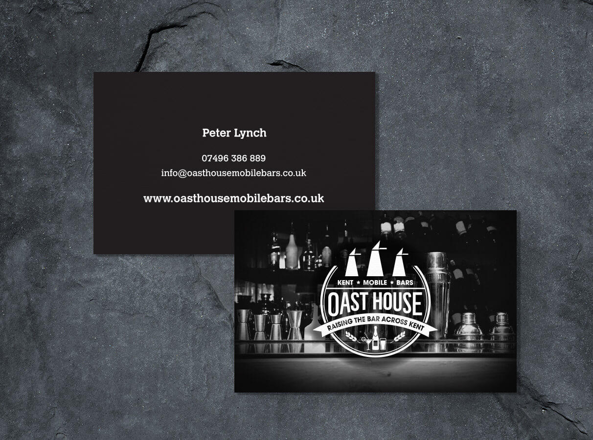 Oast House Business Cards