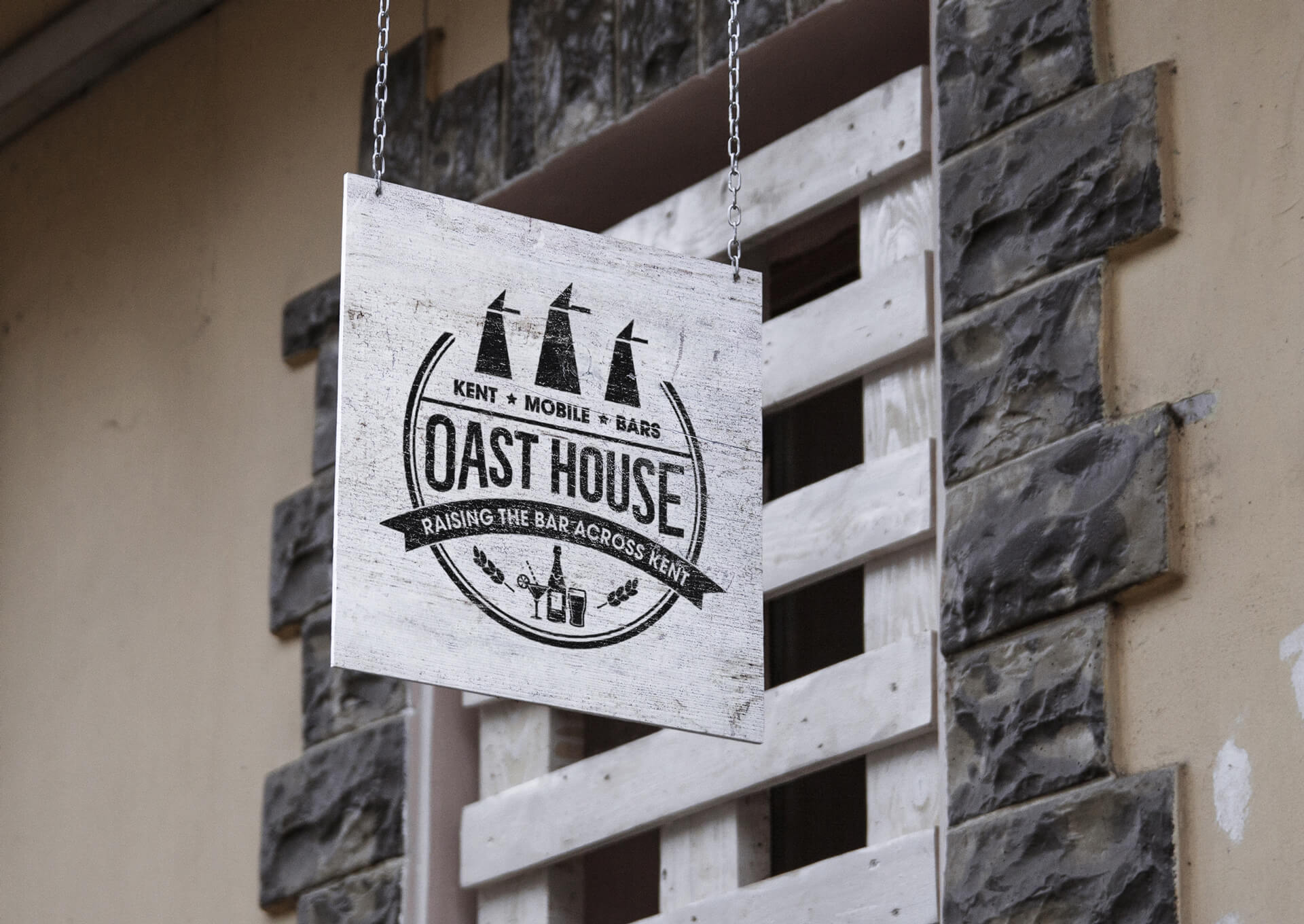 Oast House Sign
