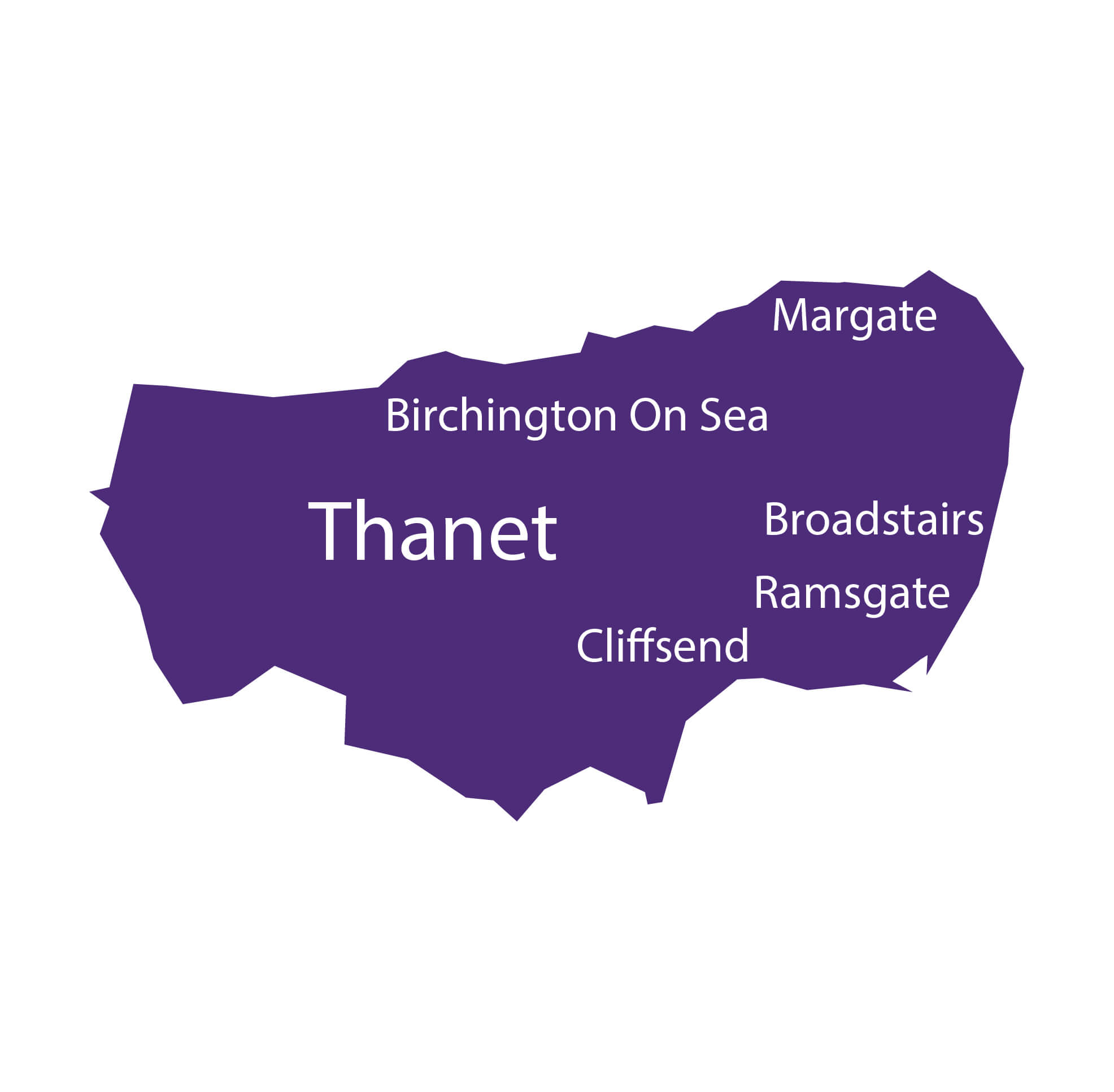 Thanet Map